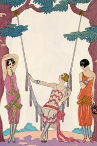 'Summer', 1925 by Georges Barbier