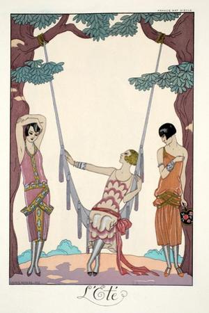 Summer, from 'Falbalas and Fanfreluches, Almanach des Modes Présentes, Passées et Futures', 1926