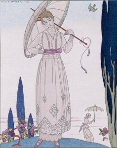 Summer Tunic Dress by Georges Barbier
