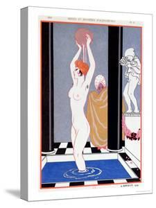 The Basin, 1914 by Georges Barbier