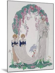 The Bride, 1920 by Georges Barbier