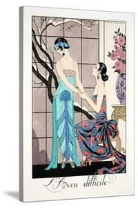 The Difficult Admission by Georges Barbier