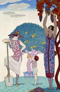 The Earth, 1925 by Georges Barbier