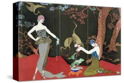 The Fashion for Lacquer, engraved by Henri Reidel, 1920
