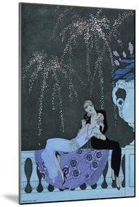The Fire by Georges Barbier