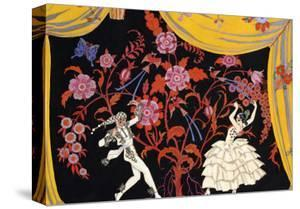 The Flamenco by Georges Barbier