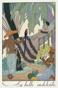 The Idle Beauty by Georges Barbier
