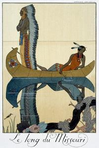 'The Length of the Missouri', 1922 by Georges Barbier