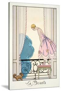 The Mouse, from 'Falbalas and Fanfreluches, Almanach des Modes Présentes, P by Georges Barbier