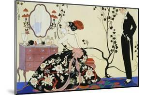 The Powder Puff by Georges Barbier
