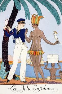 The Pretty Islander by Georges Barbier