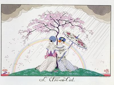The Rainbow, Engraved by Henri Reidel, 1920