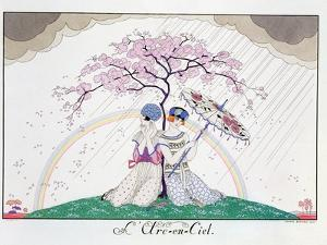 The Rainbow, Engraved by Henri Reidel, 1920 by Georges Barbier