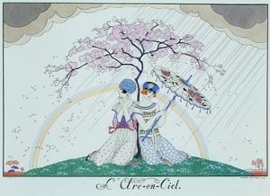 The Rainbow by Georges Barbier