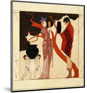 The Red Tree by Georges Barbier