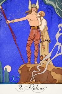 The Return by Georges Barbier