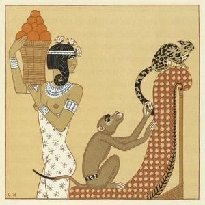 The Romance of a Mummy by Georges Barbier