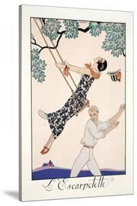 The Swing by Georges Barbier