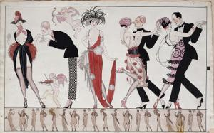 The Tango by Georges Barbier