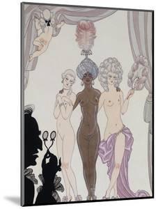 The Three Graces; Les Trois Graces) by Georges Barbier