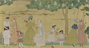 Vichy Fashions 1915 by Georges Barbier