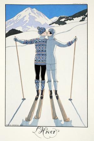 Winter, from 'Falbalas and Fanfreluches, Almanach des Modes Présentes, Passées et Futures', 1926