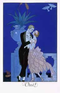 Yes! 1921 by Georges Barbier