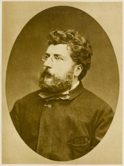 Georges Bizet French Musician, Composer of 'Carmen' and Others, in 1874--Photographic Print