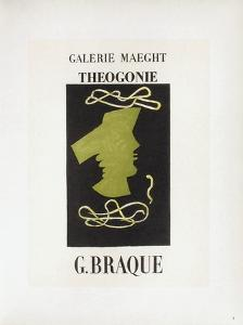 AF 1954 - Galerie Maeght by Georges Braque
