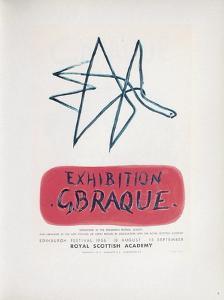 AF 1958 - Royal Scottisch Academy by Georges Braque