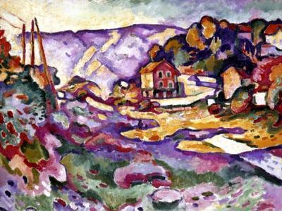 Braque: L'Estaque, 1906