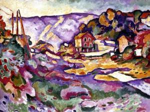 Braque: L'Estaque, 1906 by Georges Braque