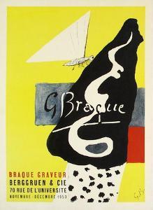Expo 53 - Berggruen by Georges Braque