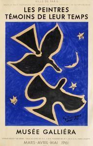 Expo 61 - Musée Galliéra by Georges Braque