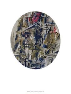 La Bouteille De Rhum by Georges Braque