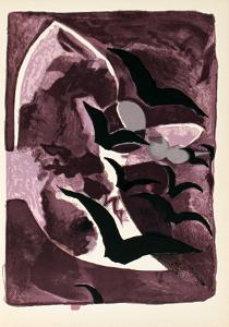 Les Oiseaux de Nuit by Georges Braque