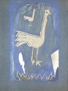 Poule by Georges Braque