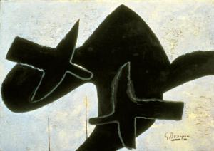 Reclining Nude by Georges Braque