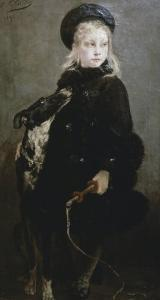 Little Animal Trainer by Georges Clairin
