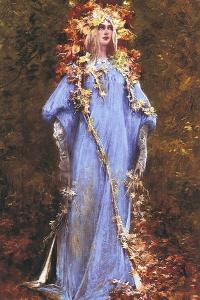 Ophelia by Georges Clairin
