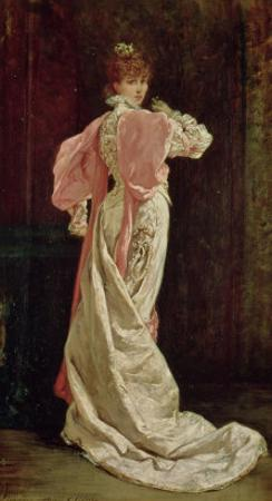 """Sarah Bernhardt (1844-1923) in the Role of the Queen in """"Ruy Blas"""" by Victor Hugo, 1879"""