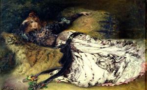 Sarah Bernhardt 1871 by Georges Clairin