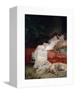Sarah Bernhardt 1876 by Georges Clairin