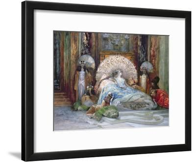 Sarah Bernhardt in Title Role of 'Theodora', by Victorien Sardou, produced in Paris in 1884, 1902