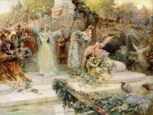 The Festival by Georges Clairin