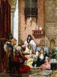 The Sultan's Favourites, 1875 by Georges Clairin