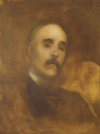 Georges Clemenceau (1841-1929)-Eugene Carriere-Giclee Print