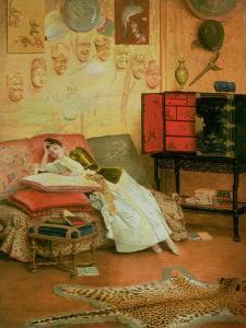 La Liseuse by Georges Croegaert