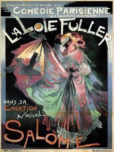 Loïe Fuller as Salomé, 1895 by Georges de Feure