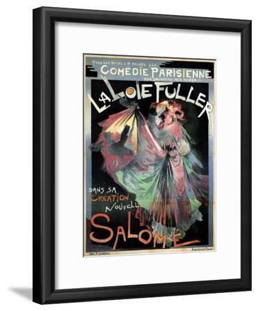 Loïe Fuller as Salomé, 1895